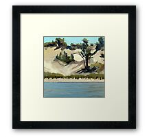 Lake Michigan Dune Framed Print