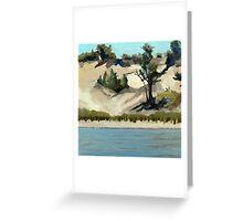 Lake Michigan Dune Greeting Card