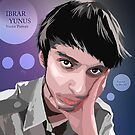 Self Vector Portrait by Ibrar Yunus