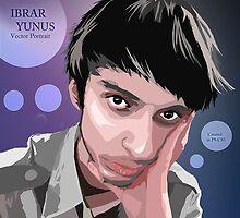 Self Vector Portrait by Ibrar Yunus