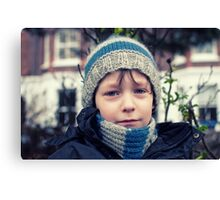 Kid Blue Canvas Print