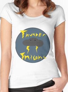 Thunder Thighs Women's Fitted Scoop T-Shirt
