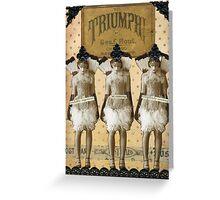 Triumph! Greeting Card
