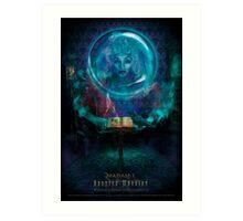 Madam L, Haunted Mansion Series by Topher Adam The Dark Noveler Art Print