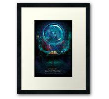 Madam L, Haunted Mansion Series by Topher Adam The Dark Noveler Framed Print