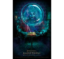 Madam L, Haunted Mansion Series by Topher Adam The Dark Noveler Photographic Print