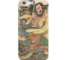 Man vs. Dragon iPhone Case/Skin