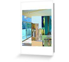 Interior light collage #7 Greeting Card