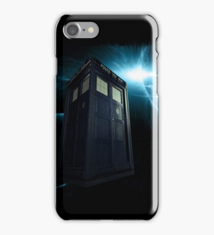 Time And Relative Dimension In Space [TARDIS] iPhone Case/Skin