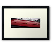da'Nose knows.... Framed Print