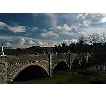 Tweed Bridge Peebles Photographic Print