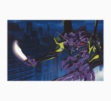 Neon Genesis Evangelion - Unit-01 Knife (Cleaned) Kids Tee