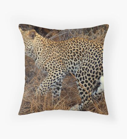 Let the hunt begin Throw Pillow