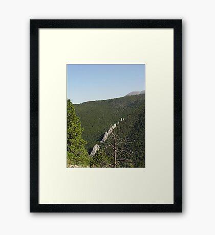 DRAGONTEETH Framed Print
