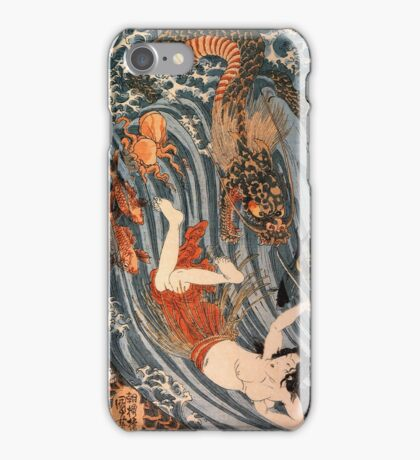 Man vs. Dragon 2 iPhone Case/Skin
