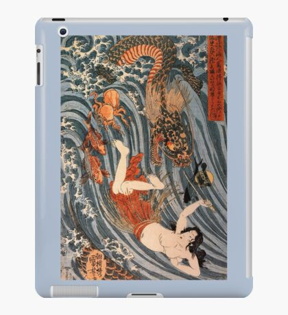 Man vs. Dragon 2 iPad Case/Skin