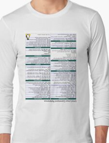 Linux Cheat Sheet Shirt T-Shirt