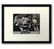 Evil Cellar Dwellar Framed Print