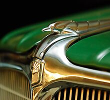 1934 Nash Ambassador 8 Hood Ornament 2 by Jill Reger