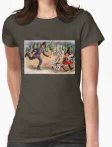 Young Graverobbers  (Vintage Halloween Card) T-Shirt