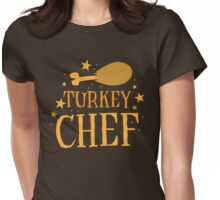 TURKEY chef Womens Fitted T-Shirt