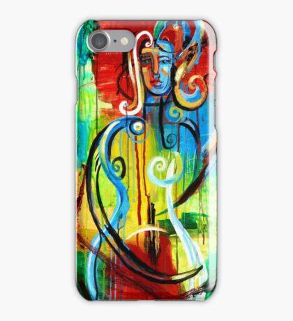 Woman Bass iPhone Case/Skin