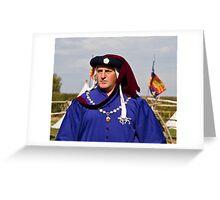 Sir William Parker Greeting Card