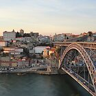 Porto at sunset by Emazevedo