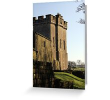 The Castle on the Hill Greeting Card