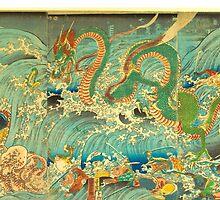 Man vs. Dragon 3 by TexasBarFight