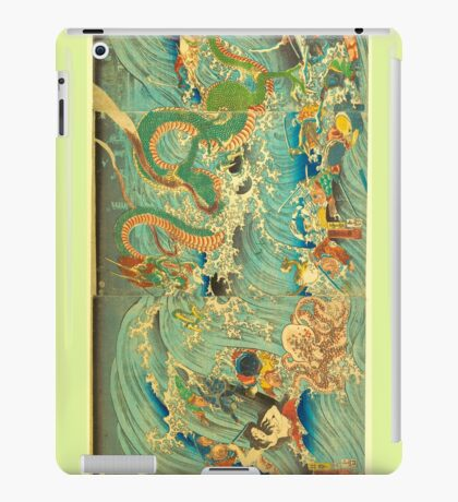 Man vs. Dragon 3 iPad Case/Skin