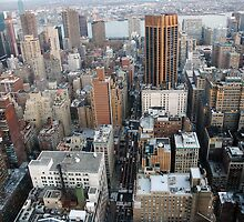 New York skyline by Magdalena Warmuz-Dent