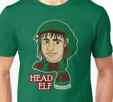 Head Elf - Green Unisex T-Shirt
