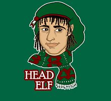Head Elf - Green T-Shirt