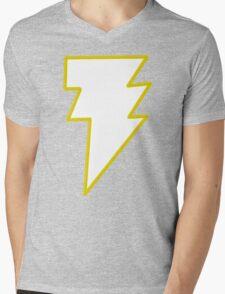Shazam/ Black Adam Mens V-Neck T-Shirt