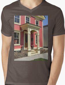 Vintage Front Entry  Mens V-Neck T-Shirt