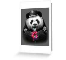 DONUT COP Greeting Card