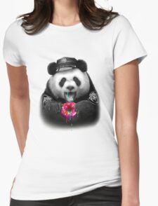 DONUT COP Womens Fitted T-Shirt