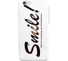 Smile iPhone / Samsung Galaxy Case iPhone Case/Skin