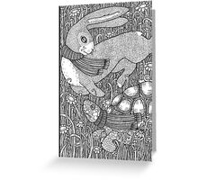 The Tortoise and the Hare Greeting Card