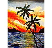 Sunset Cove Photographic Print