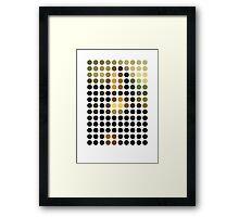 Mona Lisa Remixed (2009) Framed Print