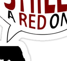 Hal had a shield! A red one! Sticker