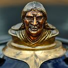 1928 Pontiac Chief Hood Ornament 1 by Jill Reger