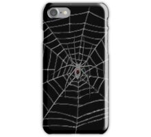 Black Widow Web Case iPhone Case/Skin