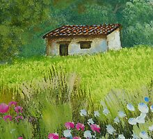 Peaceful House on Meadow by Guatemwc