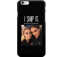 I Ship It; Emison-- White iPhone Case/Skin