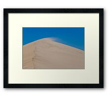 Little Sahara Framed Print