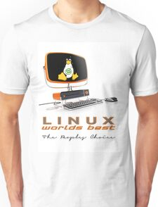 Linux Worlds Best - The Peoples Choice Unisex T-Shirt