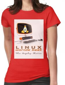 Linux Worlds Best - The Peoples Choice Womens Fitted T-Shirt